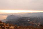 1月 鶴見岳山頂